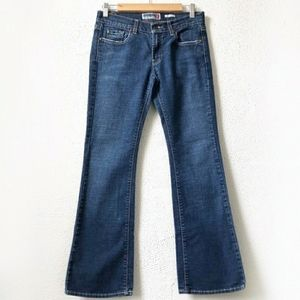 Old Navy Boot Cut Jeans Ultra Low Waist Stretch 2